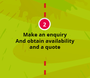 Make an enquiry and obtain availabilty and a quote