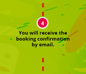 You will receive the booking confirmation by email