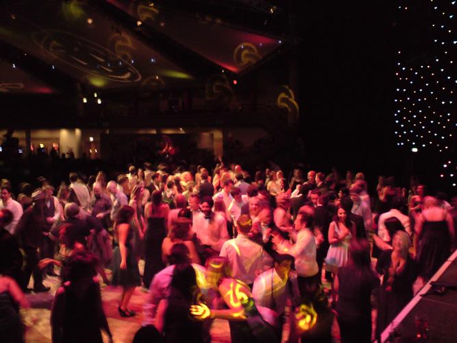 DJ Adrian filling the dance floor