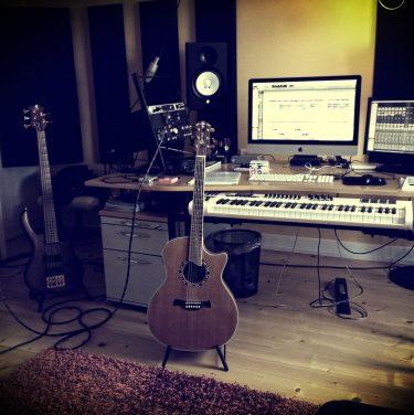 Studio fun with The MP3s