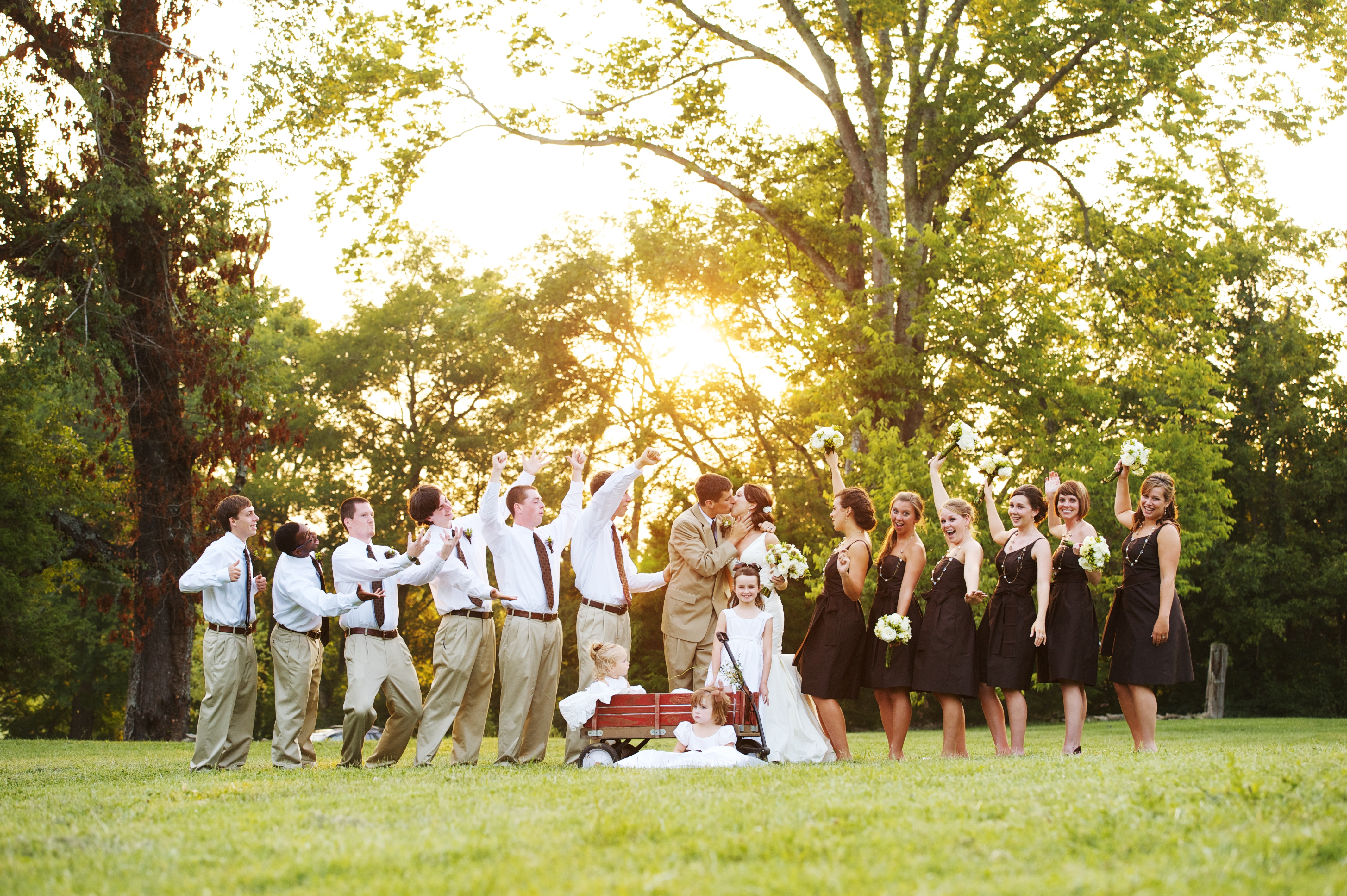 From the Frontline with Sam… July summer wedding august july