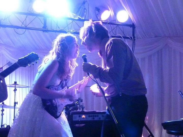 Ladies & Gents, the first dance! Performed by the Bride & Groom!