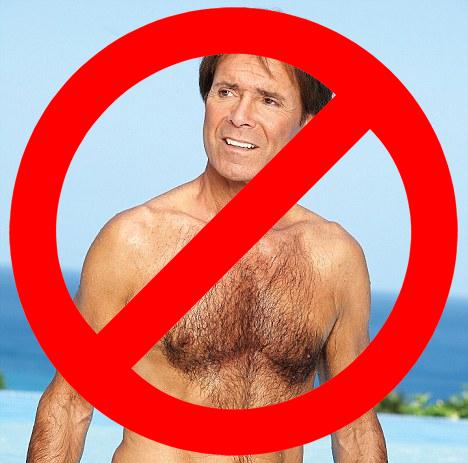 No Cliff Richard Allowed!