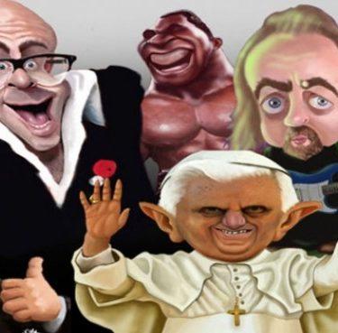 Caricaturists ROCK!