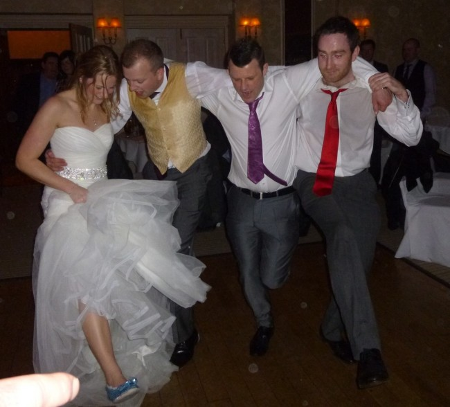 Wedding Dance Floor Antics