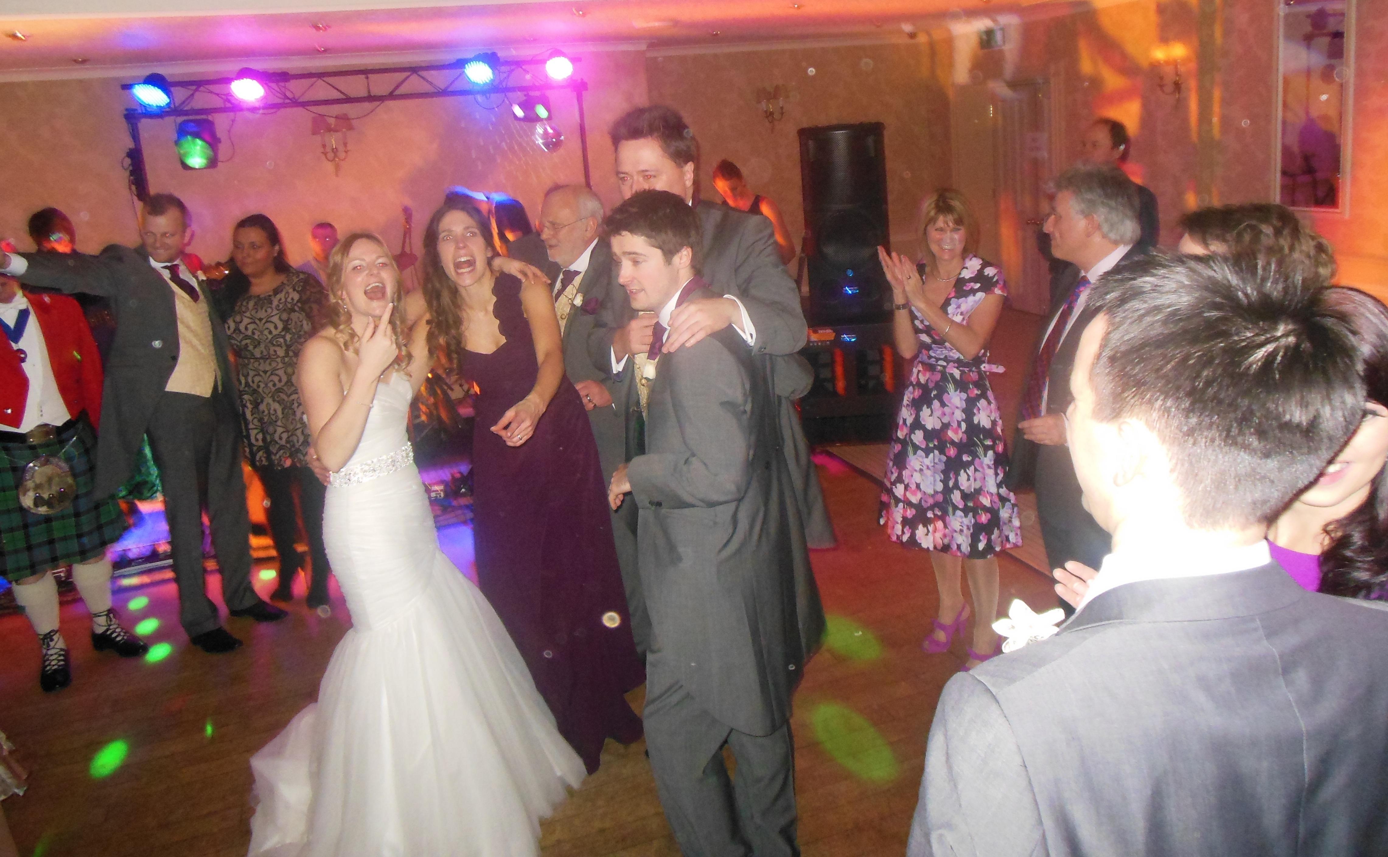 Wedding Dance Floor Antics