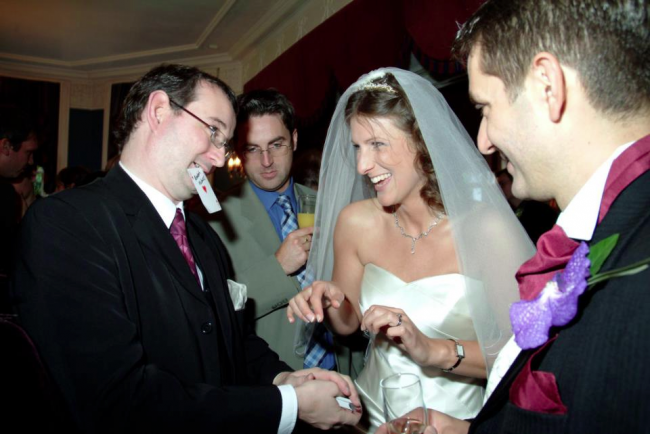 A Wedding Magician will Enhance your Special Day