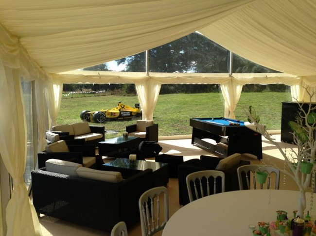 Marquees can be very versatile