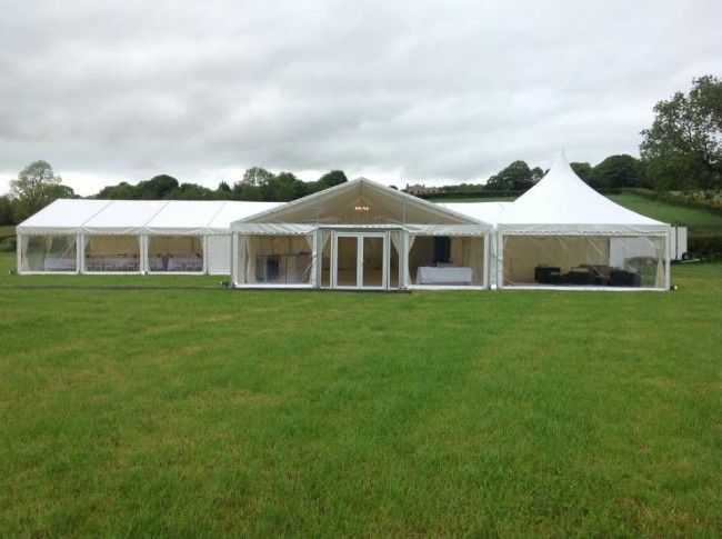 One of the many Skye Marquees available to Hire