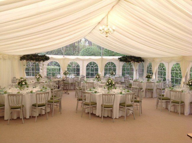Marquees are extremely popular for Weddings for many reasons..