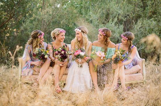 Wave Goodbye To Tradition With Warble S Boho Wedding Guide