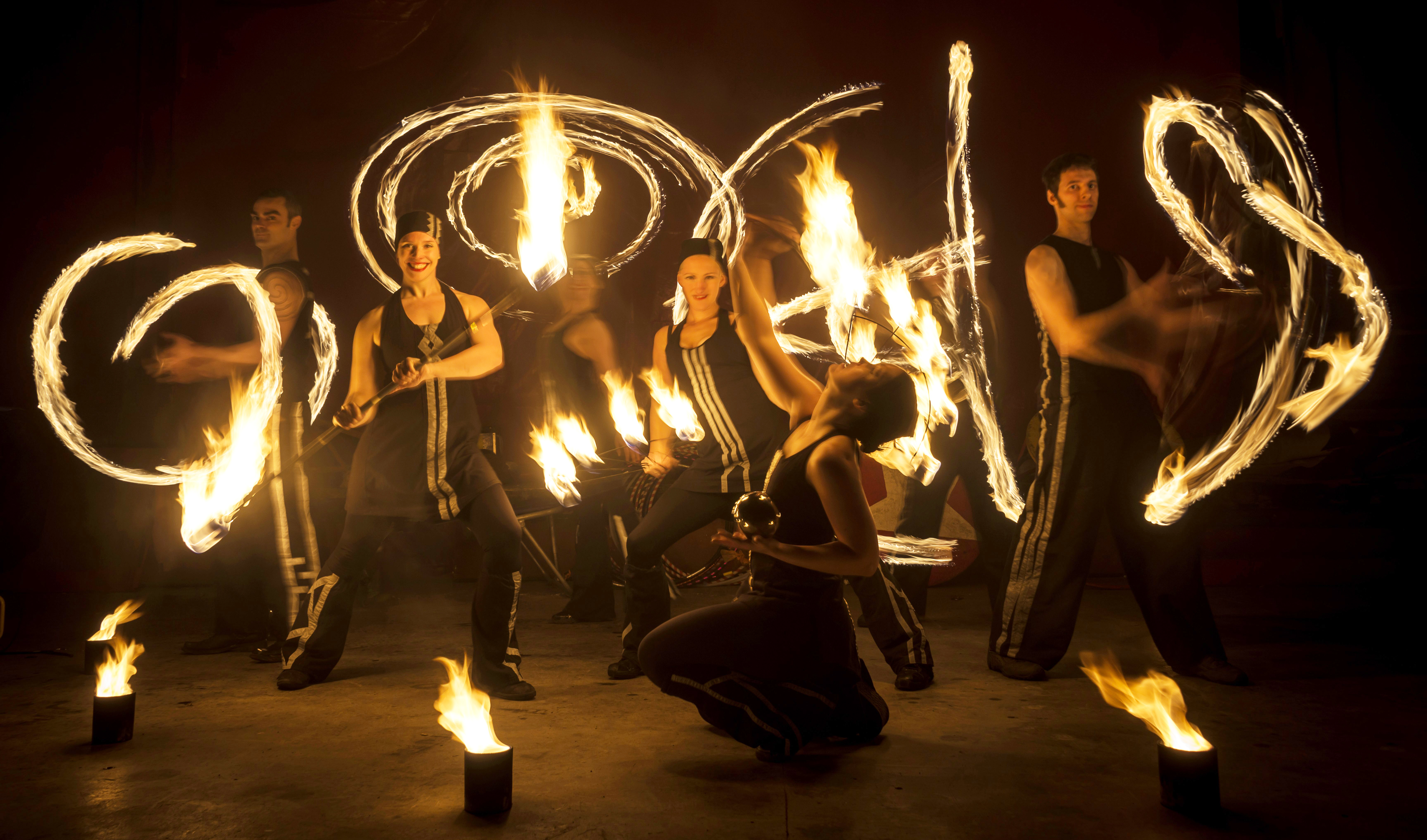 Fire Performers for Weddings