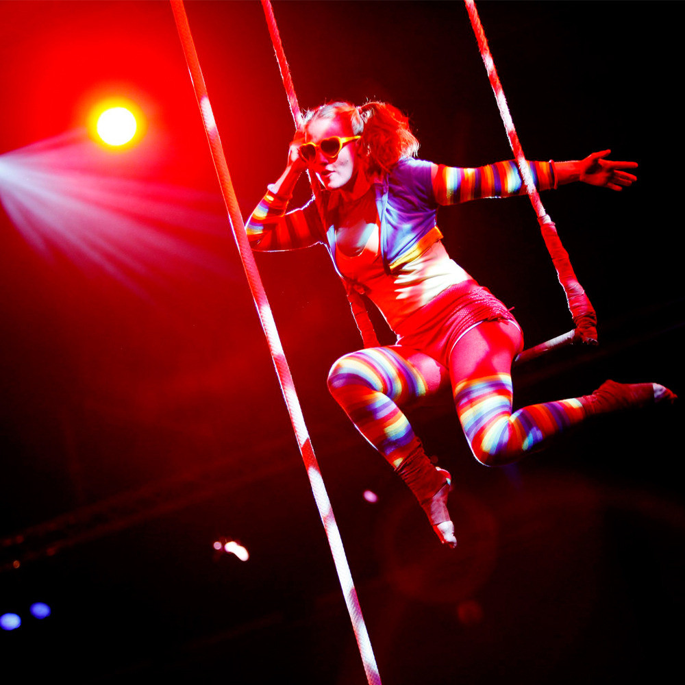 Warble Investigates: Ideas for the Hen & Stag Night circus swing act circus workshop