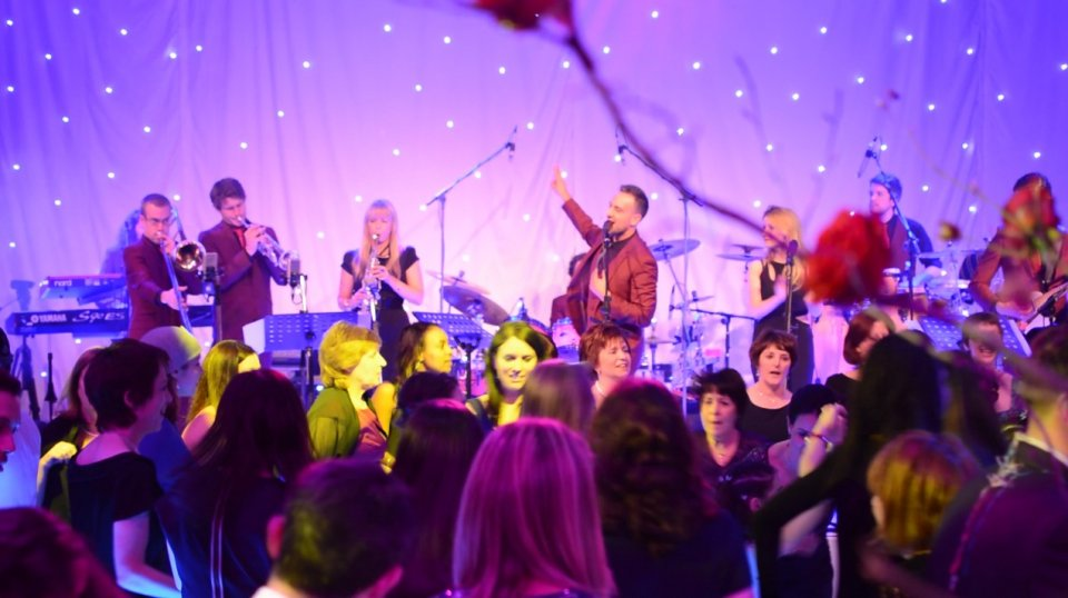 The Forte corporate band know how to get a party started!