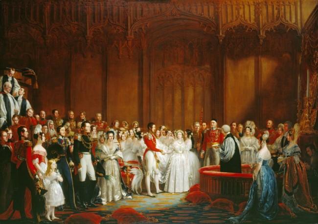 HIstory of English Weddings