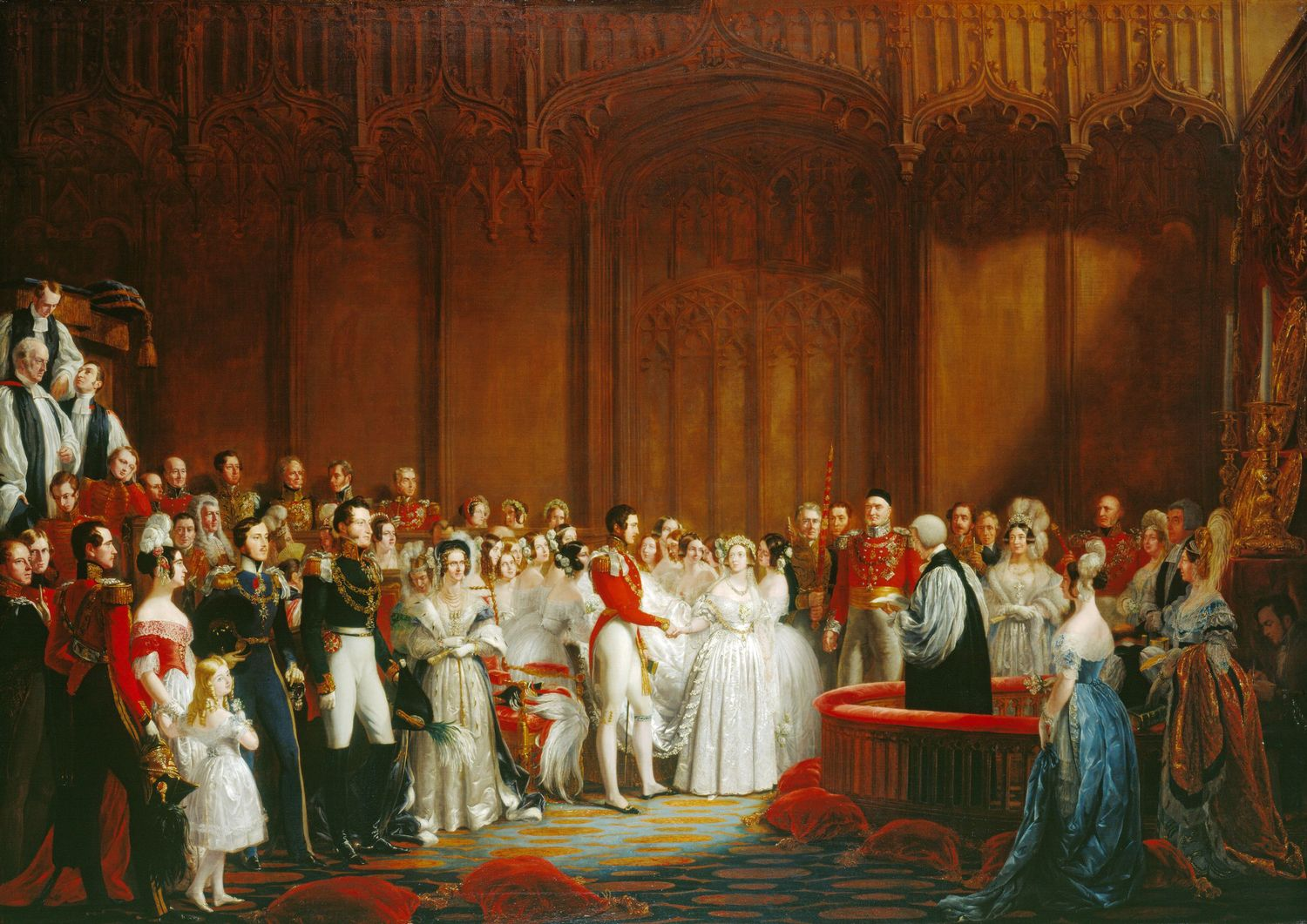 HIstory of English Weddings