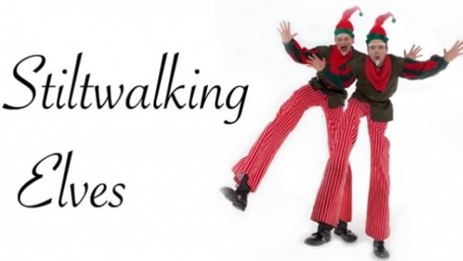 Stilt Walking Elves