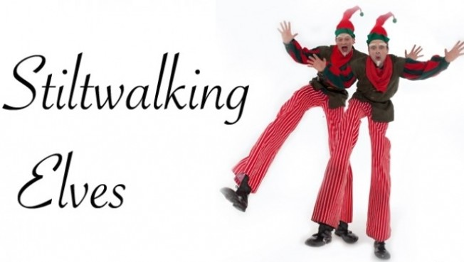 Stilt Walking Elves