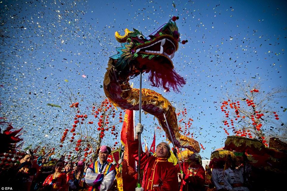 gung hei fat choi - The Chinese New Year