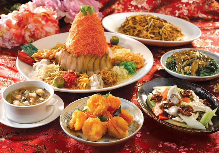 Reunion Dinner for Chinese New Year celebrations