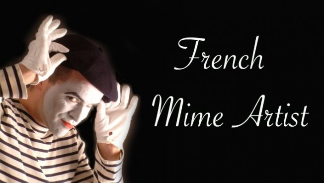 Mime Artist romantic wedding ideas