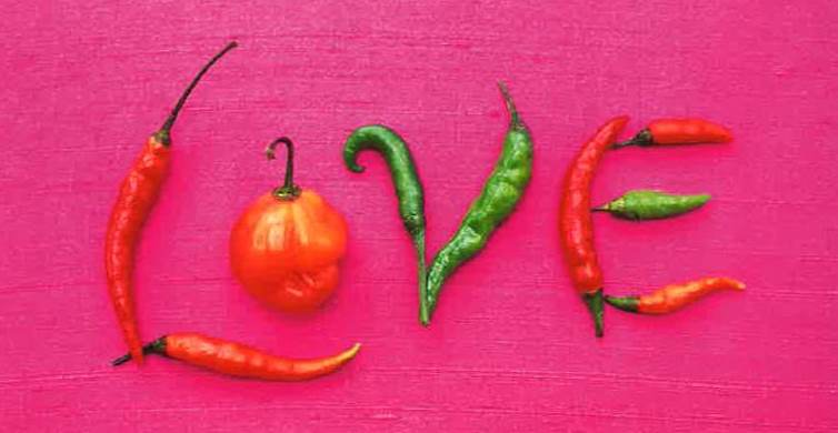 If music be the food of love then eat chillies!