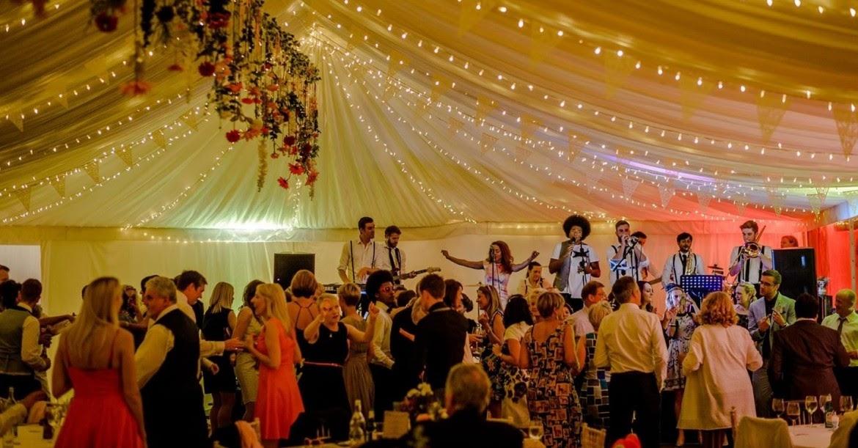 Wedding venue band