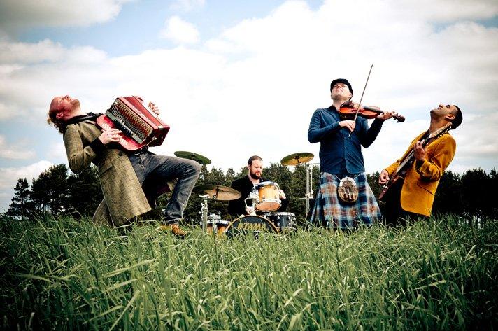 Ceilidh Experience contemporary ceilidh band