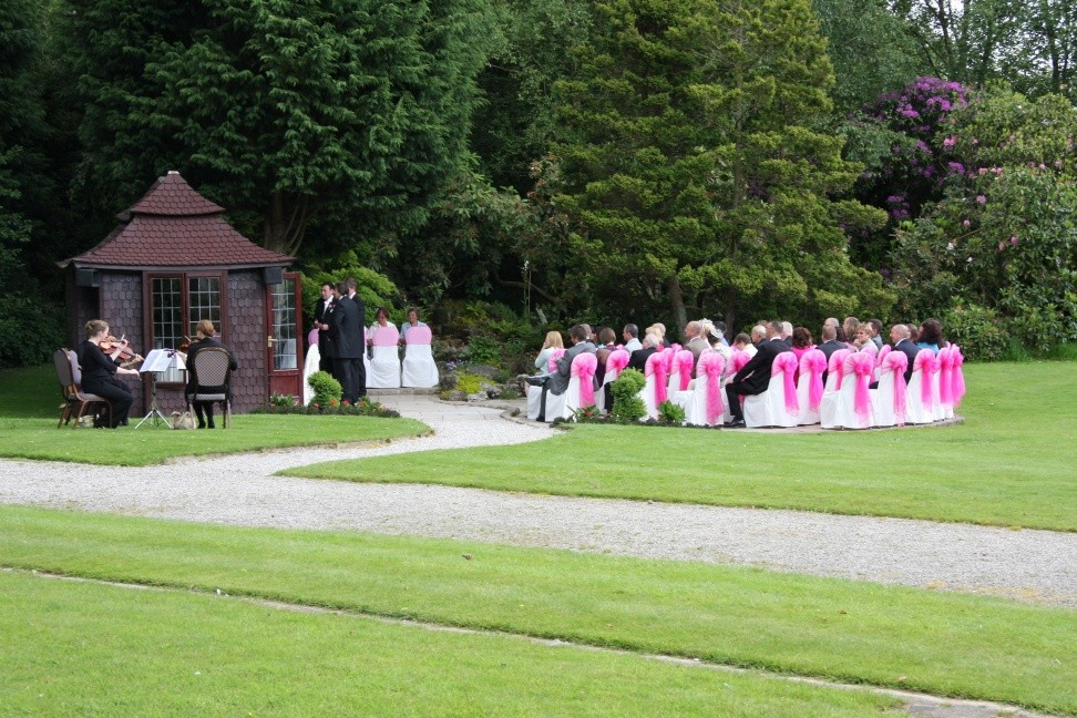 Bartle hall outdoor ceremony