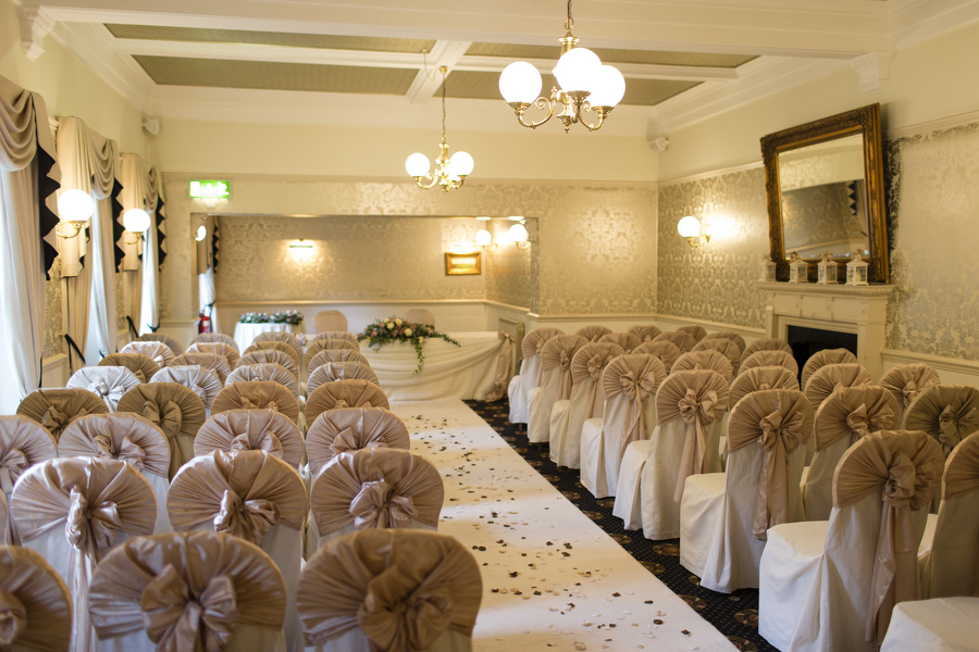 Bartle Hall Windsor Suite for Wedding Ceremonies