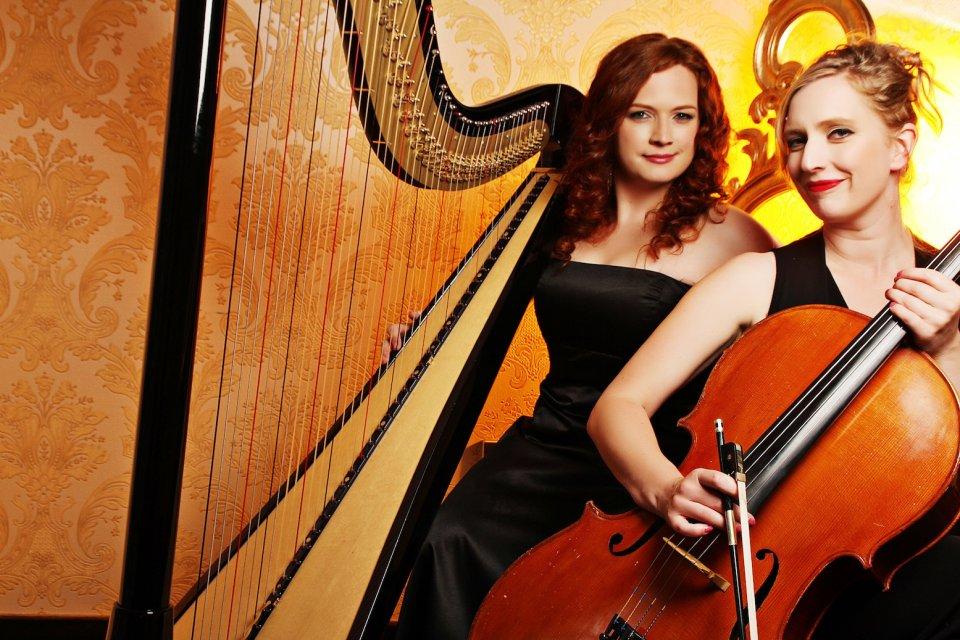 manchester harp and chello duo