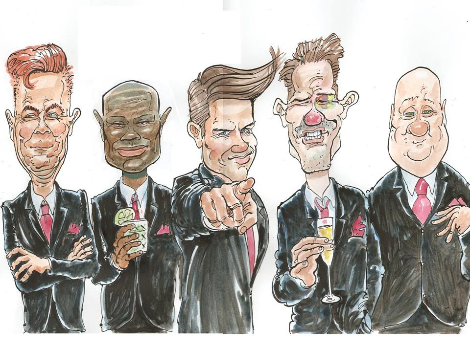 stag do caricature
