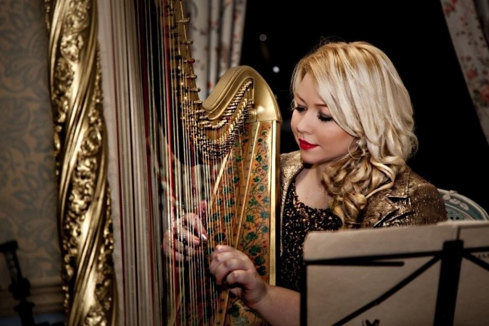 Bollywood Wedding Harpist
