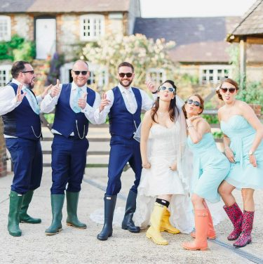 Real wedding at Upwaltham Barns