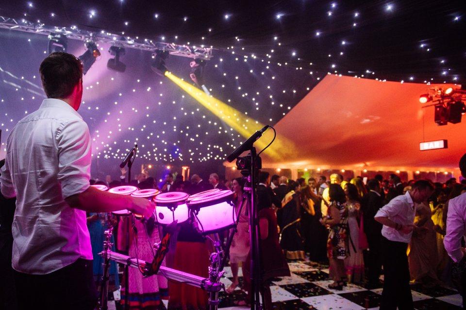 LED Percussion & Sax