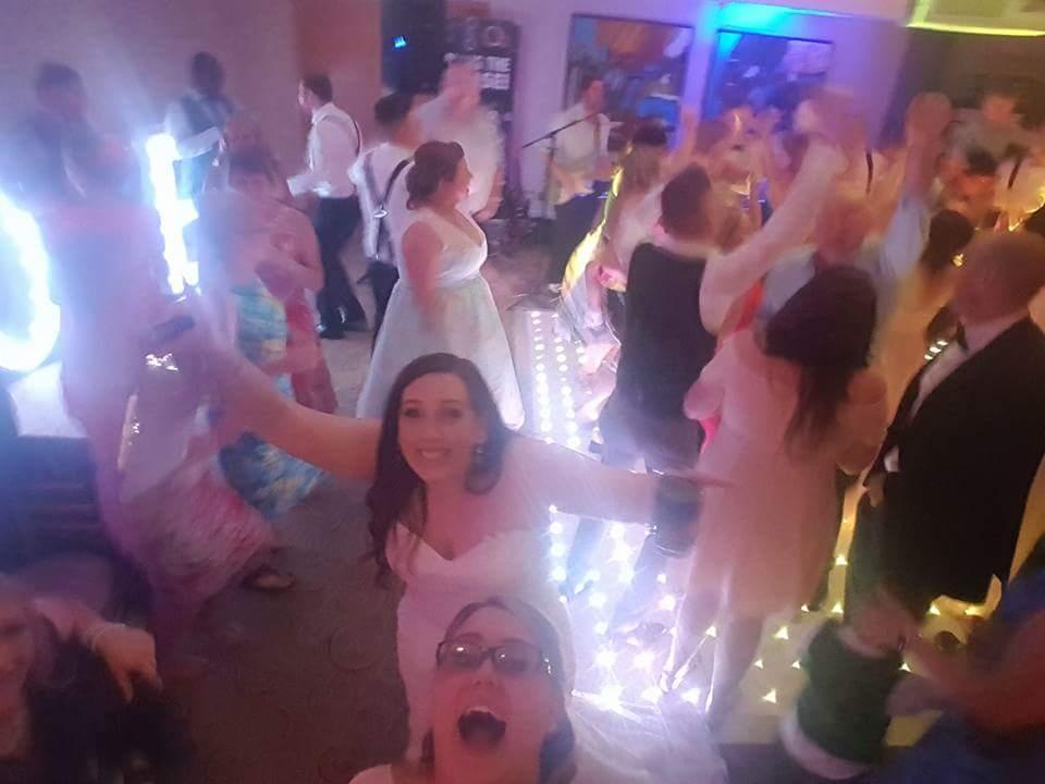 Bring The Noise Wedding Band Dance Floor shots