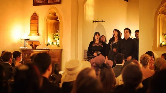 The Choir Collective for Winter Weddings