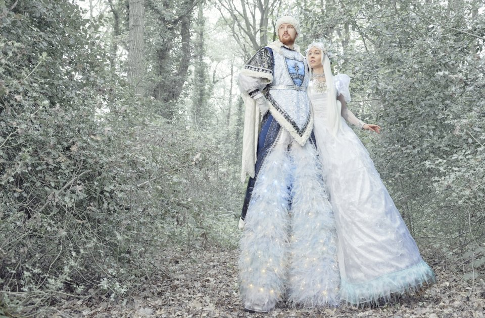 Fantasy Performers for a Winter Wedding