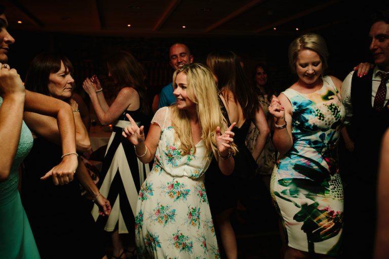 The Kickstarts Wedding Band Real Wedding Blog Dance Floor Stanley House