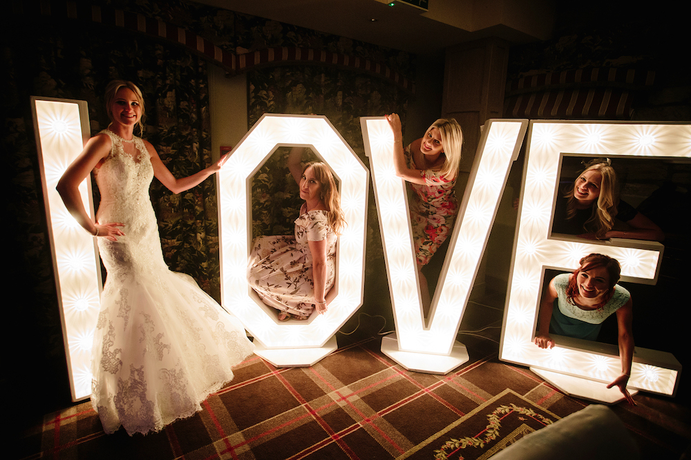 The Kickstarts Real Wedding Blog With Love Letters at Stanley House