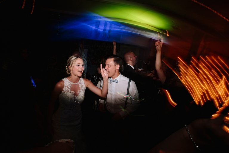 The Kickstarts Real Wedding Blog With Bride And Groom On The Dance Floor