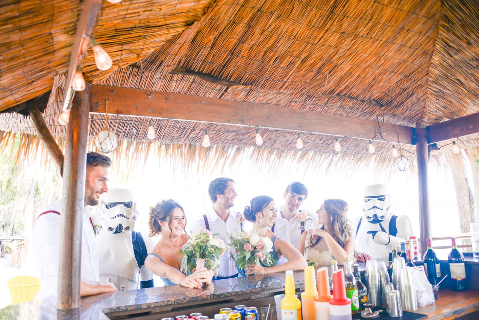 Florida Stormtrooper Real Wedding