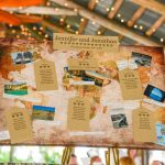 Real Wedding Florida Table plan