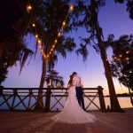 Florida Beach Wedding, Evening, Lighting