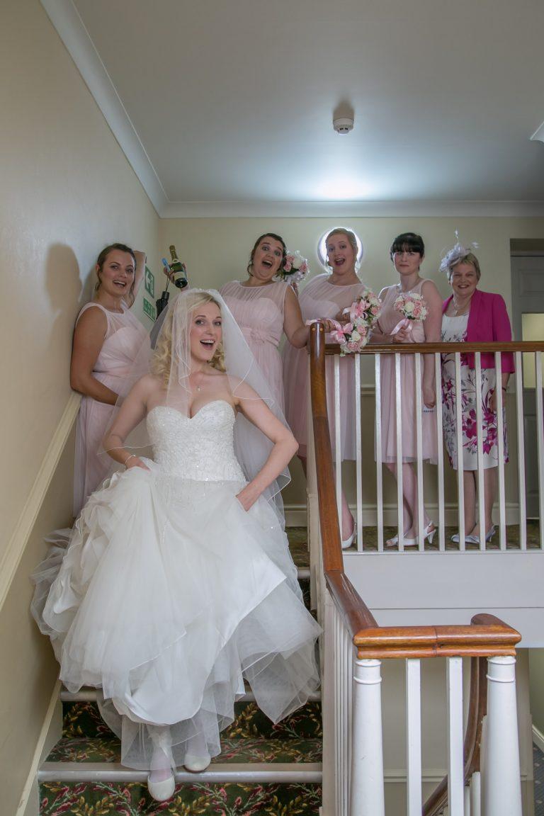 Real Wedding Bride & Bridesmaids