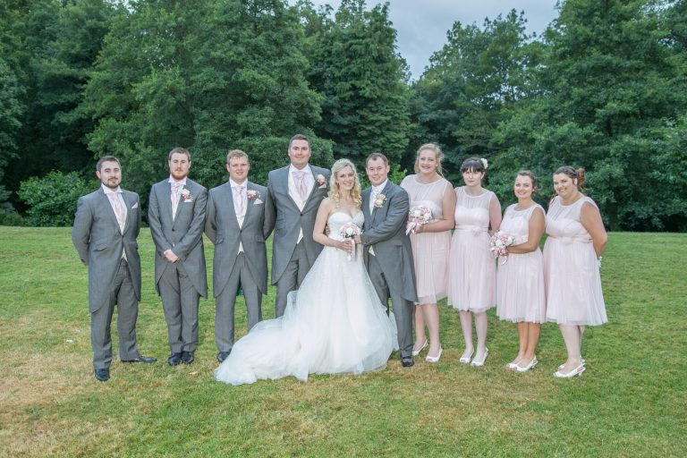 Real Wedding Photography Bridal Party