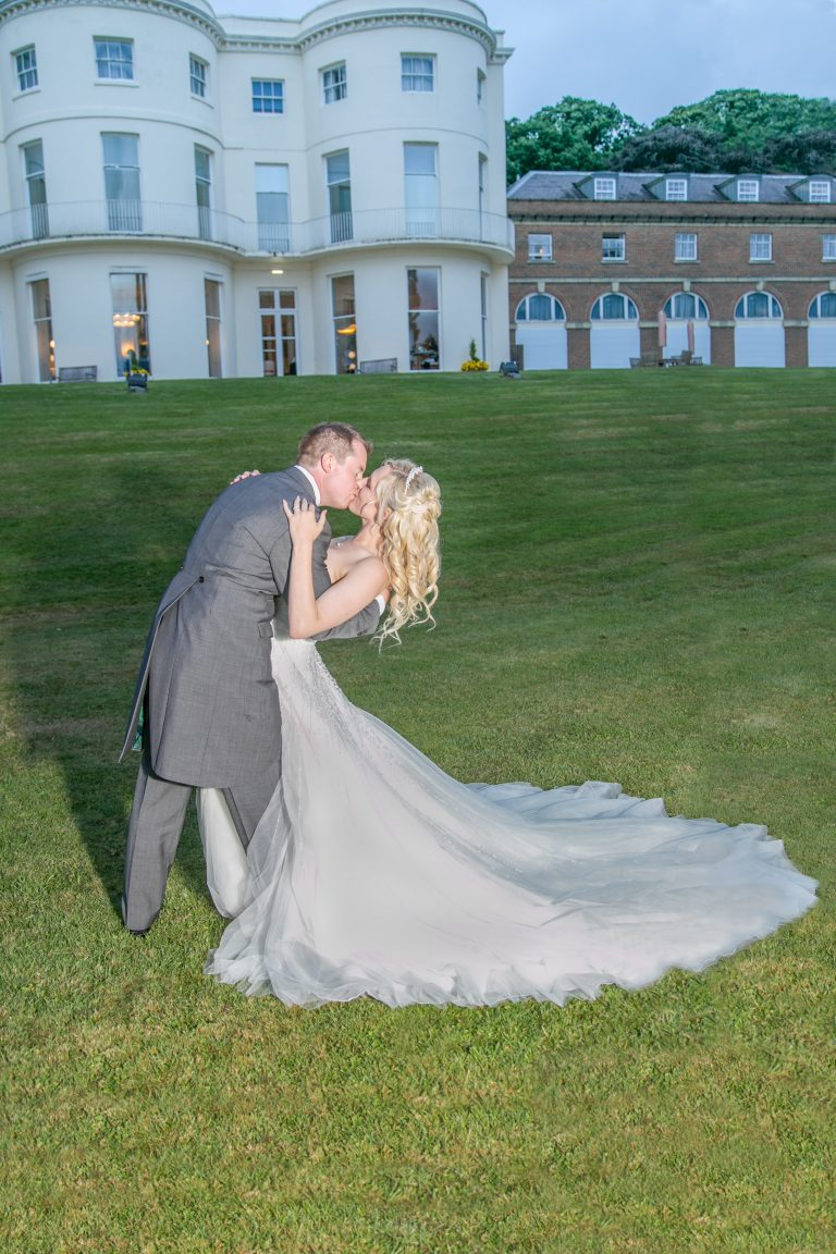 Georgian Country House Wedding With Bride & Groom