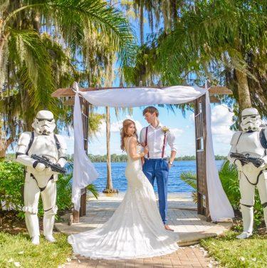 Florida Stormtrooper Real Wedding Blog
