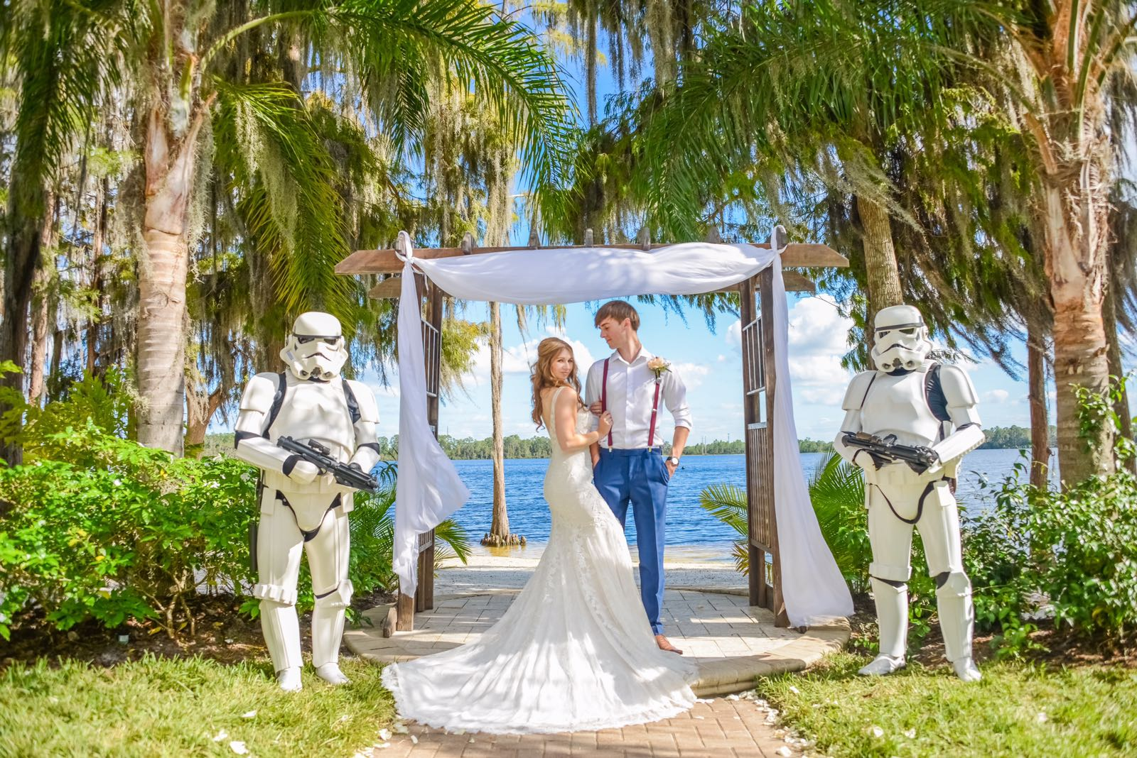 Florida Stormtrooper Real Wedding Blog