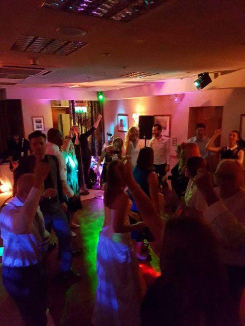 Real Wedding Dance Floor